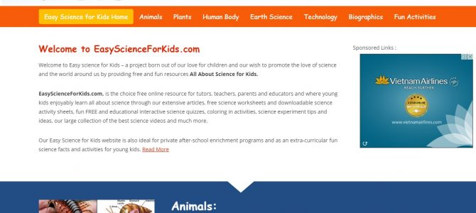 ความรู้วิทยาศาสตร์สำหรับเด็ก Science for Kids